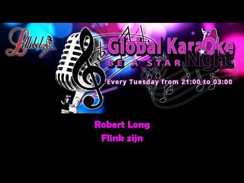 Robert Long Flink zijn Karaoke