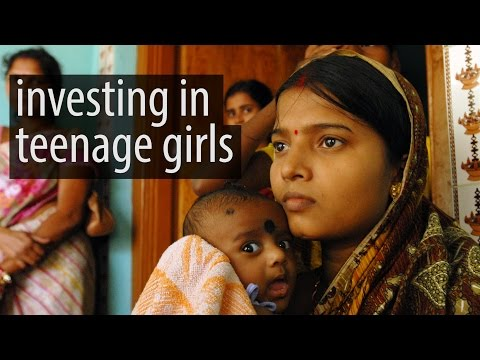 World Population Day 2016: Investing in teenage girls