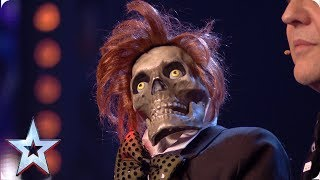 Greg & Mr Bones attempt DEAD FUNNY audition | Auditions | BGT 2019
