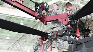 US Military Tests Newest Helicopter Blade Fold Kit On Apache