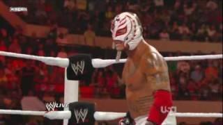 vuclip Rey Mysterio Wins WWE Championship - WWE Raw 7/25/11 [ HD ]