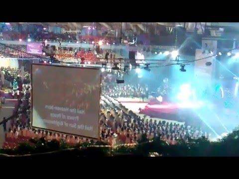 NEW GUINNESS WORLD RECORD OF LARGEST GOSPEL CHOIR COURTSEY CHRIST EMBASSY
