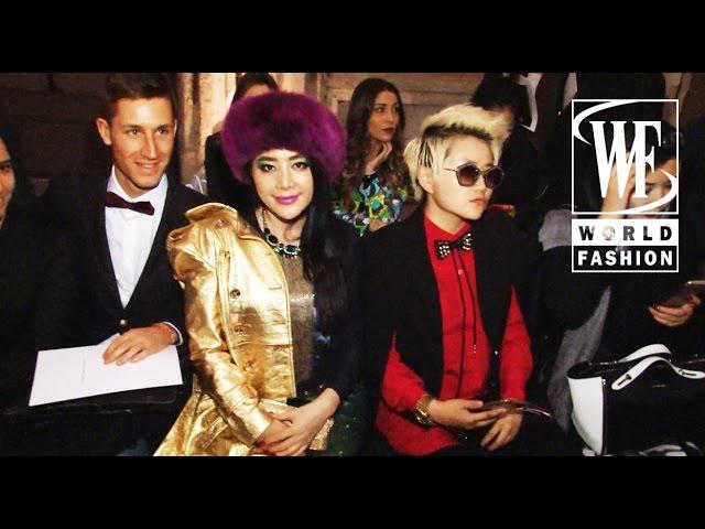 Front Row Cristiano Burani Fall-Winter 15-16 Milan Fashion Week