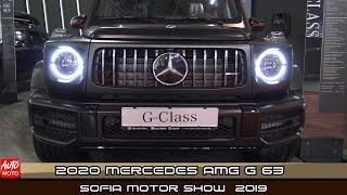 2020 Mercedes AMG G63 - Exterior And Interior - Sofia Motor Show 2019