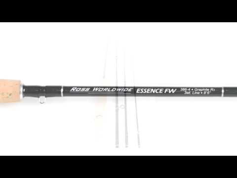 Ross Reels Essence FW Fly Fishing Rod - 4-piece, 3-6wt