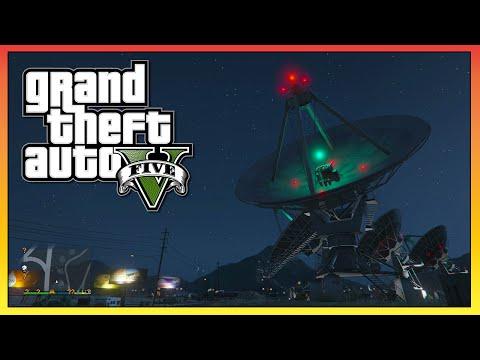 """GTA 5 - Sandy Shores """"SATELLITE"""" Mystery! - GTA 5 UFO & Aliens! (GTA V)"""
