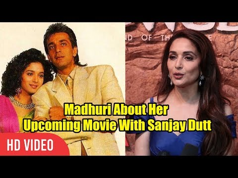 Madhuri Dixit About Her Upcoming Film kalank With Sanjay Dutt And Karan Johar