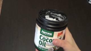 Отличное, органическое, первого отжима, холодного пресования, кокосовое масло(Кокосовое масло с сайта IHERB http://goo.gl/jfOdLE Внимание! Если текст будет 50/50 английский, можно сделать следующее:..., 2016-05-30T17:10:40.000Z)