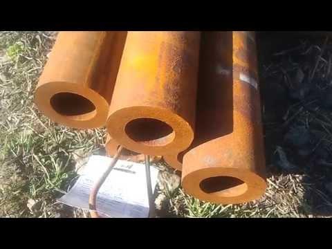 Трубы стальные бесшовные толстостенные