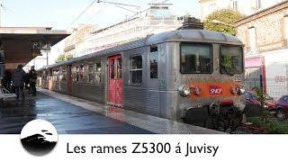 [4K] Les rames Z5300 á Juvisy (RER D)