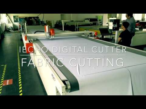 IECHO Fabric textile leather cutting machine for furniture and Car upholstery industry