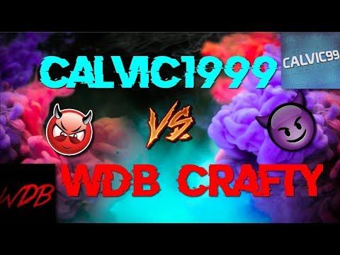 WDB Crafty vs Calvic1999! (HvHing WDB Hater!)