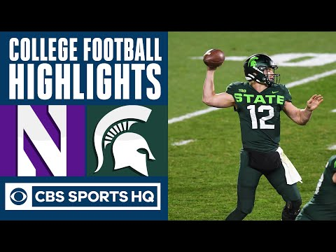 8 Northwestern vs Michigan State Highlights: Spartans hold off Wildcats  CBS Sports HQ