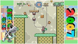 Super Dry Bones World - Dawn of Eternal Night (D) | Super Mario World Hack