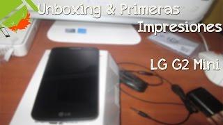 Unboxing & Primeras Impresiones Del LG® G2 Mini En Español | Nuevo Compañero ♥