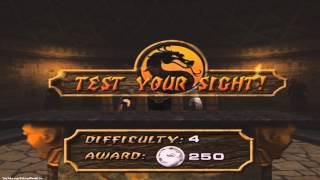 Mortal Kombat: Deadly Alliance Test Your Sight *All Difficulties* (HD)