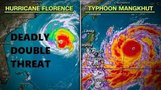 GSM Update 9/13/18 - Hurricane Florence - Typhoon Mangkhut - Summer Snow Dump Continues