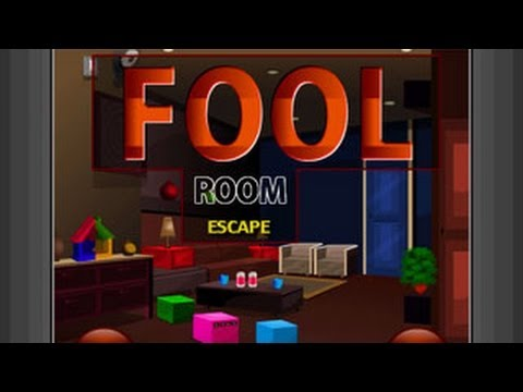 Fool room escape walkthrough new room escape games youtube for Escape room gadgets