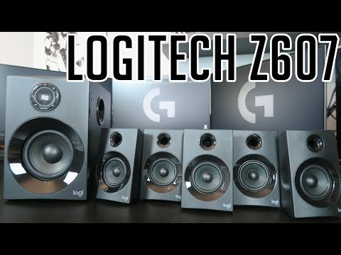 LOGITECH Z607 NEW 160W 5.1 speakers - introduction