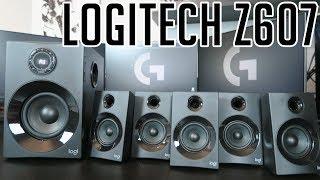 LOGITECH Z607 NEW 160W 5.1 speakers - introduction