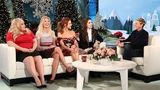 'Pitch Perfect 3' Cast Talk Sequels with Ellen
