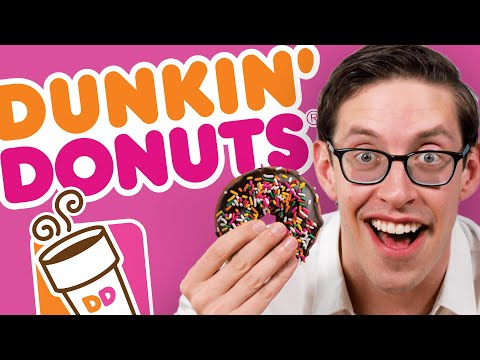 Keith Eats & Drinks Everything At Dunkin Donuts