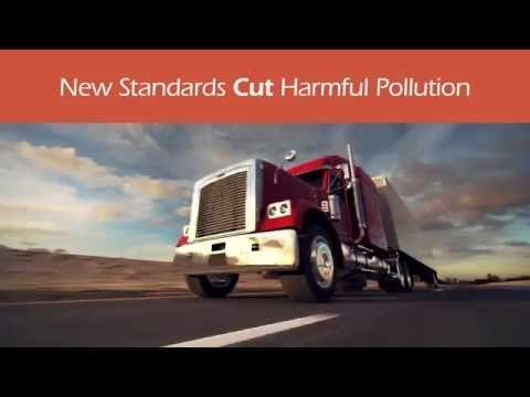 Driving down carbon pollution through GHG standards for heavy duty trucks