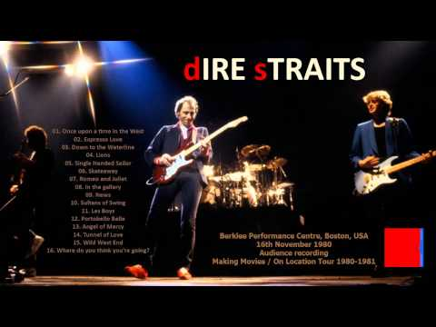 """Dire Straits """"Wild West End"""" 1980 Boston [AUDIO ONLY]"""