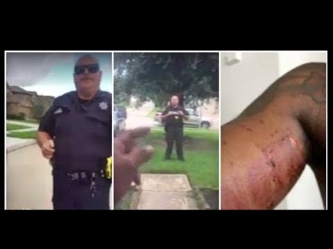 Texas Cop Tries To Arrest Teen For Not Having ID While Cutting Grass!