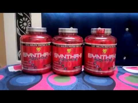 BSN Syntha 6 Isolate Review - YouTube