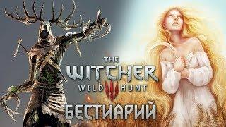 The Witcher 3 Бестиарий. Славянские монстры: Леший и Полуденница