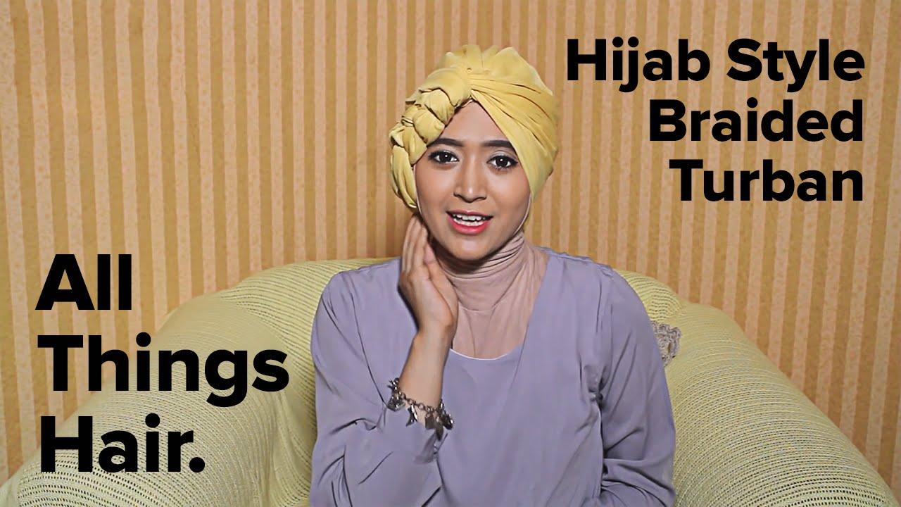 Gaya Hijab Kepang Lebaran By Natasha Farani YouTube