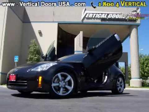 Nissan 350z Black Vertical Doors Usa Lambo 1 800 4 You