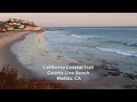 California Coastal Trail: County Line Beach