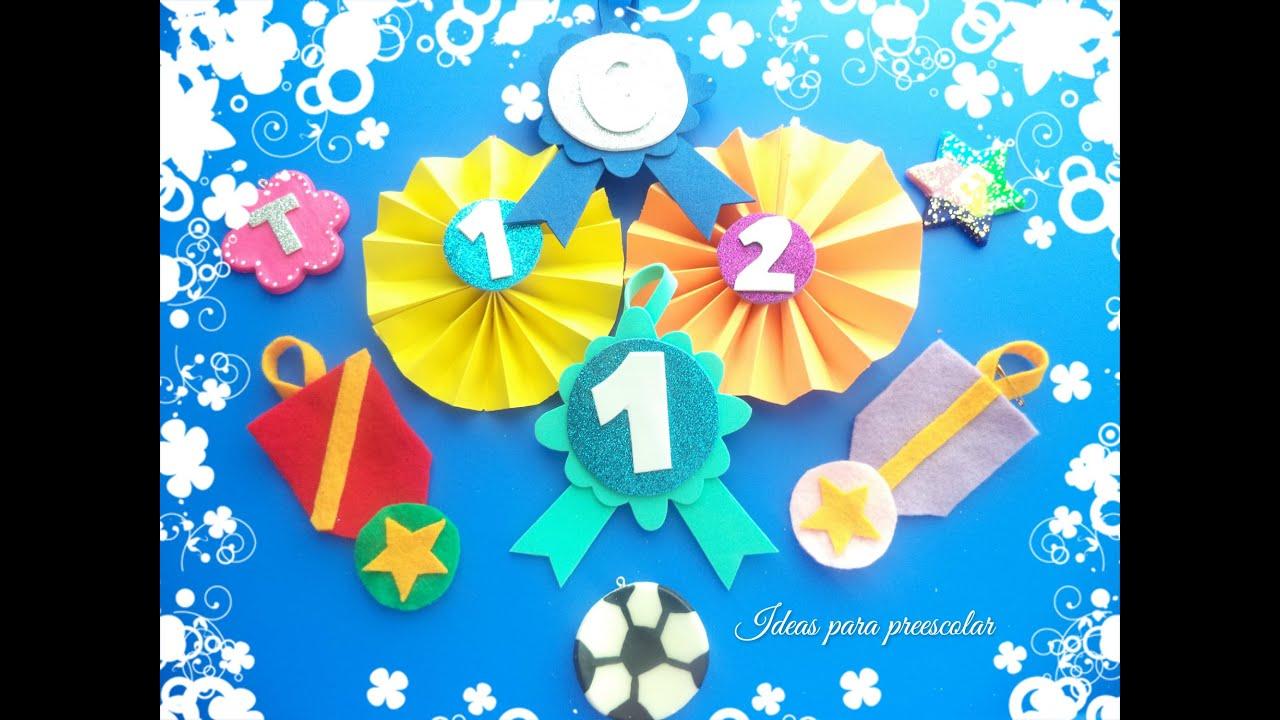 DIY Medallas Para Niños