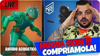 🔴 LIVE FORTNITE JkR - 10.000 LIKE NUOVA SKIN MOSTRUOSA !!! [Fortnite Battle Royale]