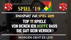 Essen 2019: Top 11 Spiele von denen ich hoffe dass sie gut sein werden