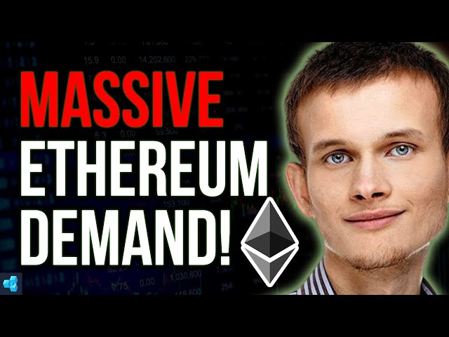 Ethereum demand will be MASSIVE!