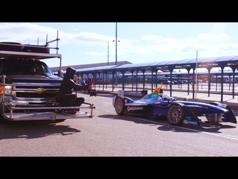 Burning Rubber: Behind The Scenes In New York - Formula E