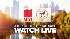 Livestream of AJC Peachtree Road Race