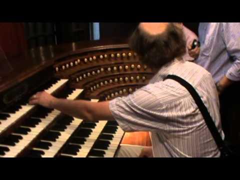 Domenico Severin Improvising On A Fantastic Cavaille Coll Organ In Paris