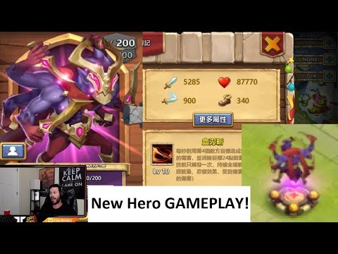New Hero GAMEPLAY One Of A Kind BEAST Castle Clash