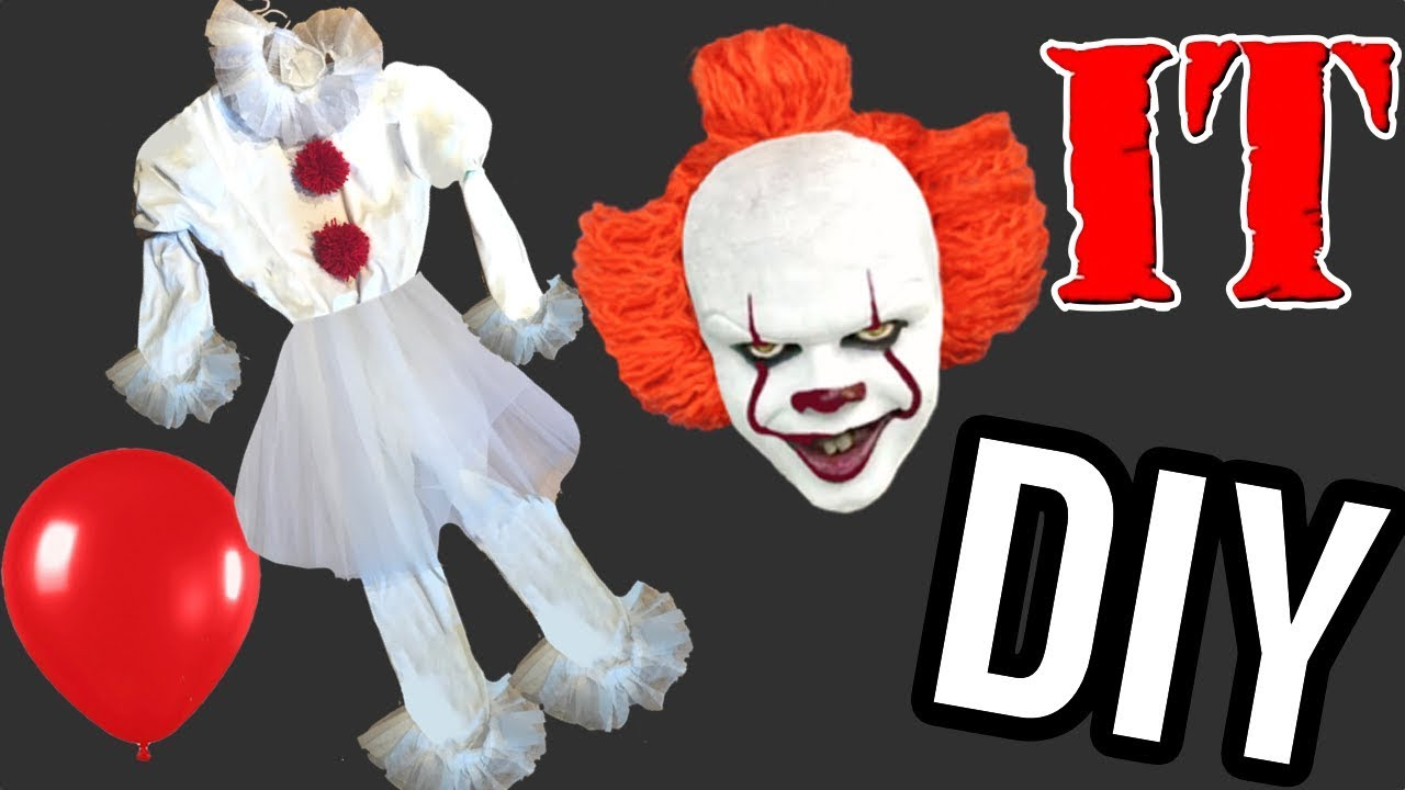 Disfraz payaso It casero para Halloween Ideas FACILES DIY YouTube