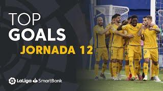 Todos los goles de la Jornada 12 de LaLiga SmartBank 2019/2020
