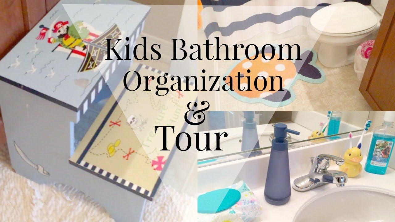 Design Kids Bathroom bathroom organization kids edition diy youtube diy