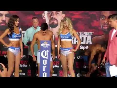 Nery Romero 132 lbs vs Luis Silva 130.8 lbs.