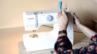 Урок №1 [Устройство бытовой швейной машинки]