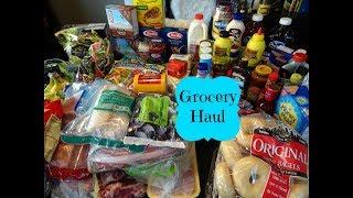 June Safeway Grocery Haul & Meal Plan