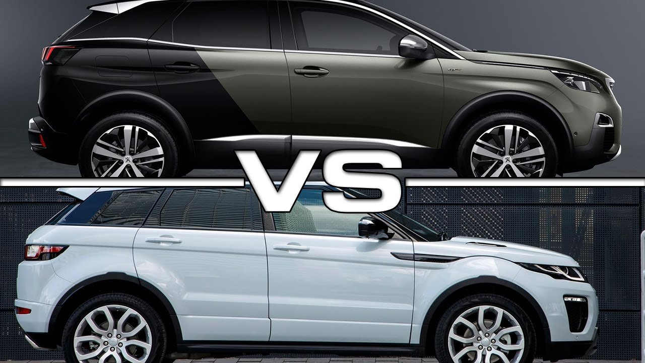 Peugeot 3008 GT vs Range Rover Evoque - YouTube