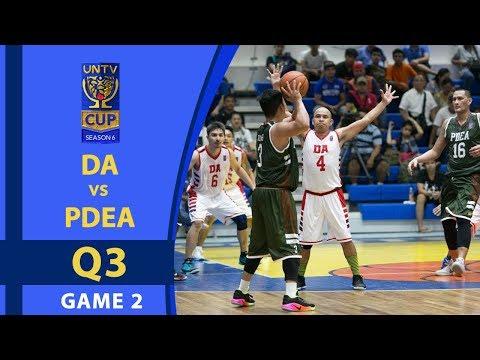 UNTV Cup 6: DA Food Masters vs. PDEA Drug Busters - Q3